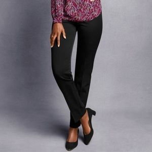b106c5aff78bed talbots | heritage black trousers straight pants